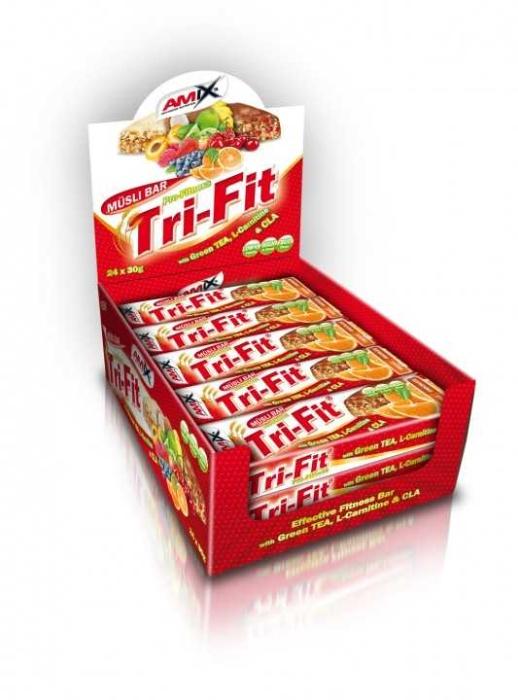 obrázek Tyčinka Tri-Fit Müsli Bar AM304