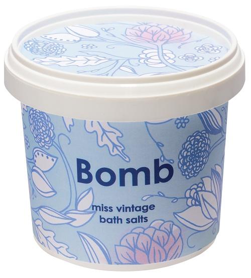 obrázek Sůl do koupele Bomb Cosmetics Sametový ročník 8040