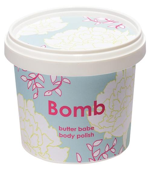 obrázek Tělový peeling Bomb Cosmetics Máslové děťátko 8038