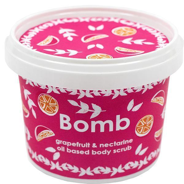 obrázek Sprchový peeling Bomb Cosmetics Grapefruit a nektarinka 8054