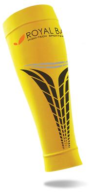 obrázek Kompresní lýtkové návleky ROYAL BAY® Extreme - žlutá RBN-extreme-zluta