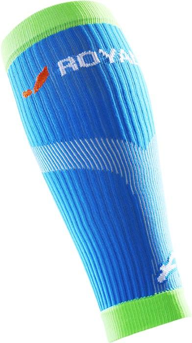 obrázek Kompresní lýtkové návleky ROYAL BAY® Neon - modrá/zelená N-neon-5699