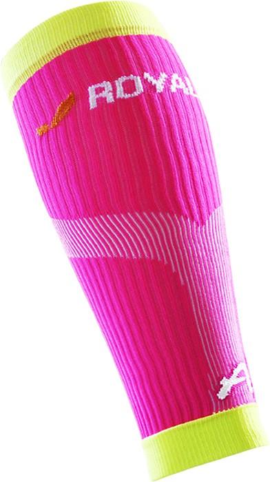 obrázek Kompresní lýtkové návleky ROYAL BAY® Neon - růžová/žlutá N-neon-3199