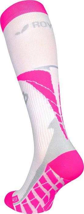 obrázek Kompresní podkolenky ROYAL BAY® Air - bílá/růžová air-0388