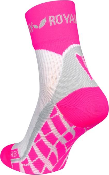 obrázek Sportovní ponožky ROYAL BAY® Air HIGH-CUT - bílá/růžová air-high-cut-0388