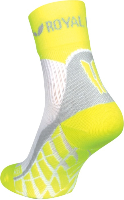 obrázek Sportovní ponožky ROYAL BAY® Air HIGH-CUT - bílá/žlutá air-high-cut-0188