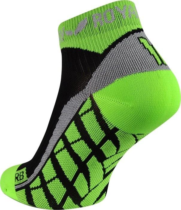 obrázek Sportovní ponožky ROYAL BAY® Air LOW-CUT - černá/zelená air-low-cut-9688