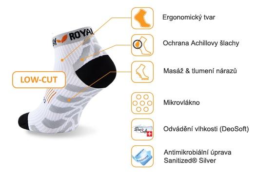 obrázek Sportovní ponožky ROYAL BAY® Classic LOW-CUT - bílá classic-low-cut-0000
