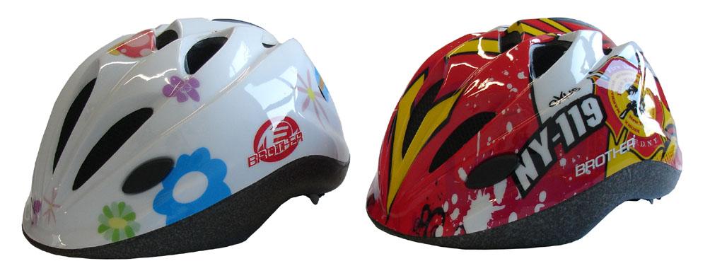 obrázek Dětská cyklo helma (48 - 52 cm) 05-CSH065B-S