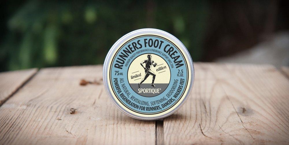 obrázek Sportique Runners Foot Cream - regenerační krém na chodidla SKU125